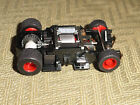 TYCO MAGNUM 440X2 WIDE PAN NEW OLD STOCK CHASSIS HO SLOT RED RIMS CHASSIS! (NEW)