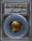 2014 W Baseball Hall of Fame $5 Gold PCGS PR70 DCAM Signed by Nolan Ryan