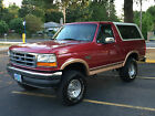 Ford  Bronco Ford Bronco Eddie Bauer Sport 4x4 SUV Blazer 1994 ford bronco eddie bauer 4 x 4 lifted 2 dr 58 l v 8 engine new tires rust free