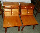 Pair of Maple Step End Tables / Side Tables by O'Hearn   (BM-T467)