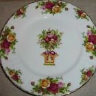 Royal Albert Old Country Roses Spring Topiary Accent Luncheon Plate -Retired-