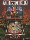 Dirty Harry A Direct Hit Pinball Machine by Williams Original Sales Flyer