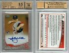 Shelby Miller RC AUTO 2013 TOPPS CHROME CAMO REFRACTOR #'d 15 BGS 9.5 10