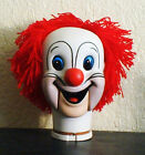 NEW! Bozo Clown head ventriloquist doll dummy puppet figure