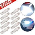10X White T5 37 58 70 73 74 Car Auto Dashboard Gauge LED Wedge Side Light Bulbs