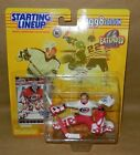 Kenner 1998 Starting Lineup   white  tag  signed sample