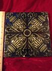 1850-1899 Ceramic Glazed Art Tile Minton's Stoke Trent Green CHINA WORKS 8 x 8