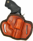 SEMI MOLDED BROWN LEATHER BELT OWB HOLSTER TAURUS ULTRA LITE 38 SPECIAL 2
