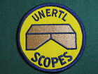 Rare Vintage UNERTL SCOPES Manufacturer's Patch No Reserve