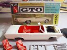 1965 PONTIAC GTO CV. AMT VINTAGE 3-IN-1 KIT #5615-150; NICE BUILDER to COMPLETE