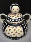 Wiza Boleslawiec Polish Pottery Cheese Lady Cover Only Made in Poland 6.25