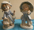 VINTAGE KPM  PORCELAIN FIGURINES BOY AND GIRL VERY DETAILED VERY CUTE A MUST-SEE