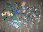 Lot of Vintage Toy Soldiers & Vehicles!! Army Men!! Tanks! Helicopters!!