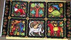 Julie Paschkis-Folklorica Panel- In the Beginning-Hard to find!