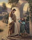 High-quality Hand-painted Portrait Oil Painting,Pictures of Jesus Christ