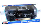 Maisto SWAT Jeep Rescue Concept 118 Diecast Model SWAT Police Matte Black