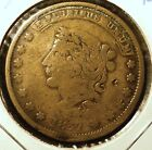 1837 Hard Times Token HT-51 R2 with 20 Dol. Counterstamp