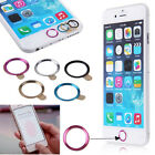 Metal Home Button Ring Circle Cover Sticker Skin For Apple iphone 5S 6 6Plus TGS