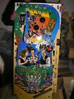 MAVERICK PINBALL PLAYFIELD - NEW - REMOVED FROM DAMAGED CABINET - SUPER RARE!