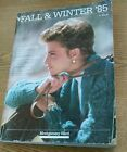 Vintage 1985 Fall Winter Montgomery Wards Catalog
