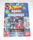 X Men Steel Mutants Cable vs Stryfe MOC 100 complete TOY BIZ