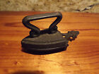 Rare~Vintage~Black Cast Iron and Flat Iron Trivet~50 years old~VGC