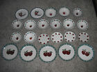 Apple Dishes Lot 22 Piece Set AppleJack Dinner Stoneware Mainstay Plate Bowl