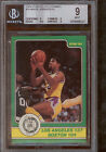1984 Star Celtics Champs #10 Magic Johnson IA BGS 9 w 9 9 9.5 9