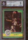 1984 Star Celtics Champs #5 Magic Johnson IA BGS 9