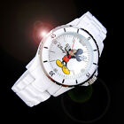 Walt Disney Princess Mickey Mouse Men Women Unisex Fashion White Wrist Watch