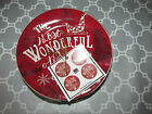 222 Fifth Christmas Tunes Most Wonderful Time of Year Appetizer/Dessert Plates
