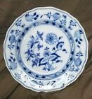 Meissen Porcelain Plate Antique Old German Blue and & White