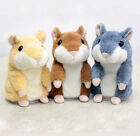 New Ritzy Mimicry Pet Record Speak Electronic Hamster Animal Plush Toy Gift JBUS