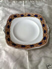 Vtg Luster ware Gaudy Walsh Type CHARGER CAKE PLATE SERVER PLATTER w/ HANDLES