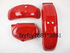 Red Plastics Fenders Cover Fairings Honda Monkey Z50 Z50R 50J Bikes Skyteam Z50
