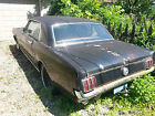 Ford  Mustang 1966 2 dr coupe 1966 ford mustang coupe v 8 auto project vehicle