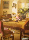 Dining Room Decor Pattern Butterick 6620 Table Cloth Place Mat Chair Cover Drape