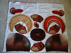 Turkey~Patty Reed~Fabric Traditions Panel Thanksgiving stuffed animal craft~Sew