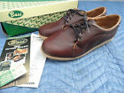New Vintage size 8.5 G H BASS Comfort Platform Chocolate Brown Shoes Leather USA