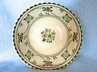Staffordshire Old Granite Bowl ~ Johnson Bros Provence England~ beautiful greens