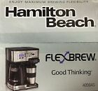 Hamilton Beach 2 Way FlexBrew Coffeemaker 49984S Brand New In Sealed Box