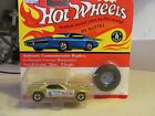 HOT WHEELS VINTAGE SERIES REDLINE GOLD SNAKE + PRUDHOMME RACE USED BONUS!