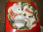 CHRISTMAS KRISTMAS KITTY by FITZ & FLOYD CANAPE PLATE