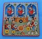 Vintage 1950s/60s Metal Toy Target Shooting Range Tin Toy MAR Toys New York