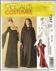 Costume Pattern by McCall 2810/P247 Misses Lined Gown and Cape Size 12-16