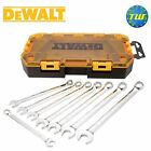 DeWalt 8pc Combination Wrench Set Metric with 10-17mm Spanners DWMT73810