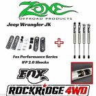 Zone Jeep Wrangler JK 07 17 4 door 3 Suspension Lift Kit W Fox Performance 20