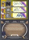 ALBERT PUJOLS DAVID WRIGHT RYAN HOWARD 2008 TOPPS TRIPLE THREADS 3X GU AUTO #5 9