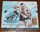 2012-13 Upper Deck SP Game Used Edition Factory Sealed Hobby Box