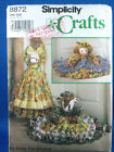 Simplicity # 8872 Sewing Pattern Cow, Pig, Pony Draft Stoppers  uncut c